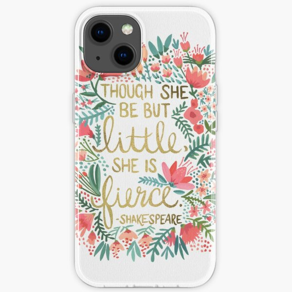 Little & Fierce iPhone Soft Case