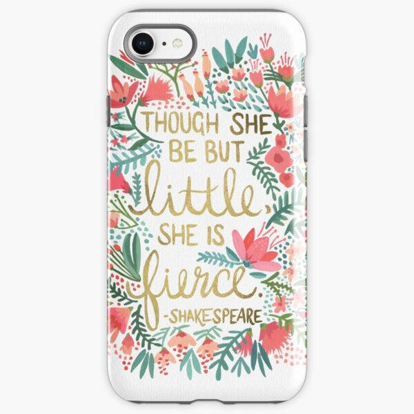 Little & Fierce iPhone Tough Case