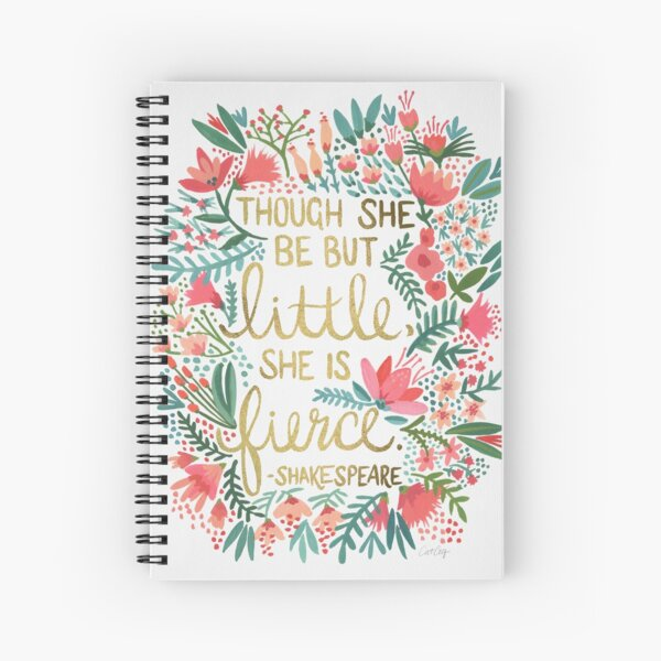 Little & Fierce Spiral Notebook