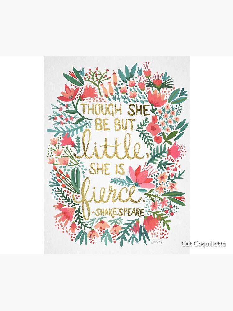 Little & Fierce by catcoq