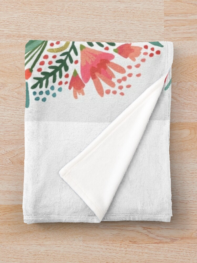 Alternate view of Little & Fierce Throw Blanket