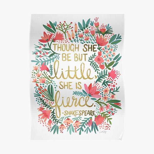 Little & Fierce Poster