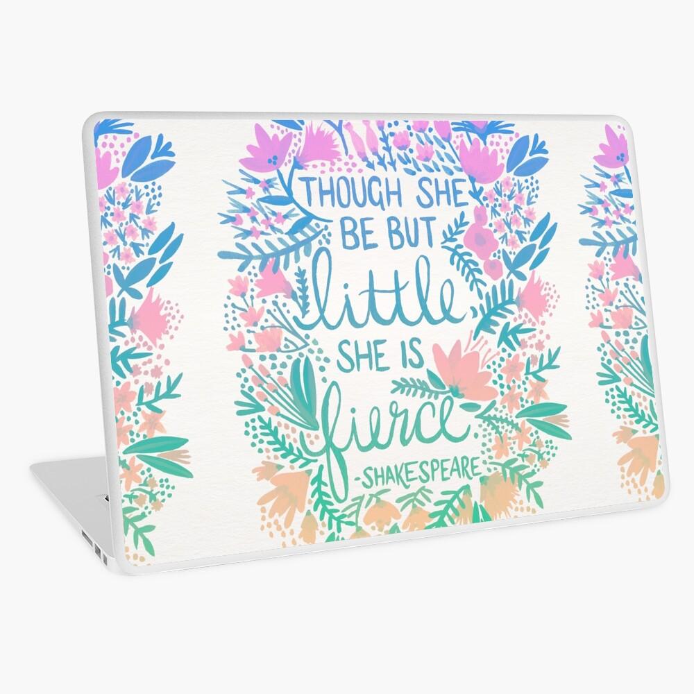 Little & Fierce – Lavender Mint Ombré Laptop Skin