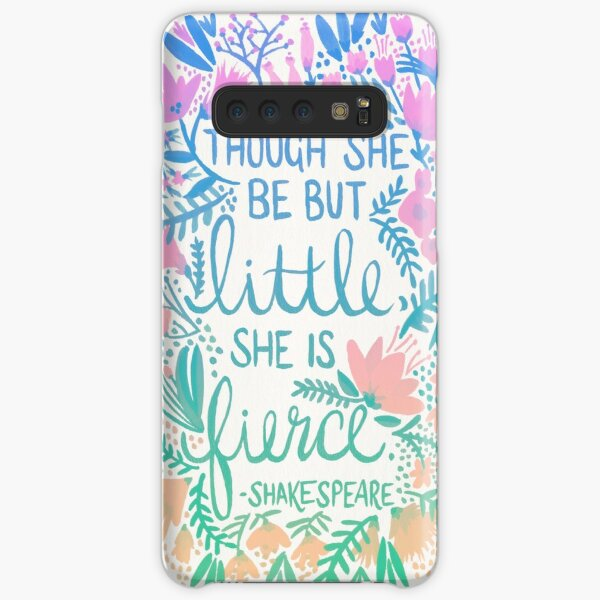 Little & Fierce – Lavender Mint Ombré Samsung Galaxy Snap Case