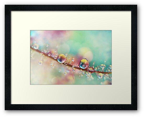 Rainbow Smoke Drops by Sharon Johnstone