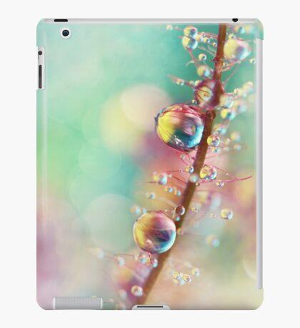 Rainbow Smoke Drops iPad Case/Skin