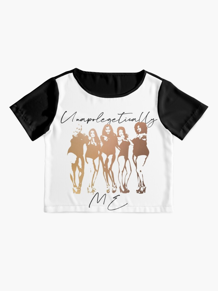 Alternate view of Unapolegetically Me Self Love, Body Positivity,  Gender Equality, Strong women, Black woman, Women Empowerment, Cultural Chiffon Top