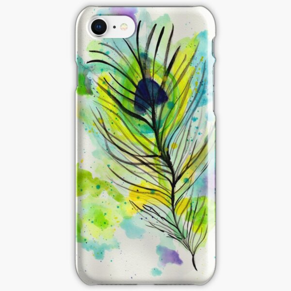 Peacock Feather iPhone Snap Case