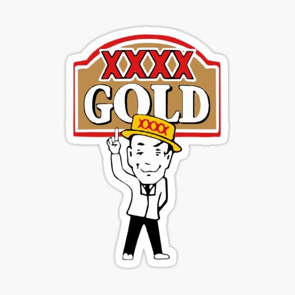 XXXX Gold Beer Sticker