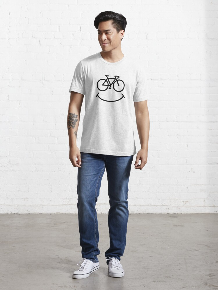 Alternate view of Bicycle Smile Essential T-Shirt