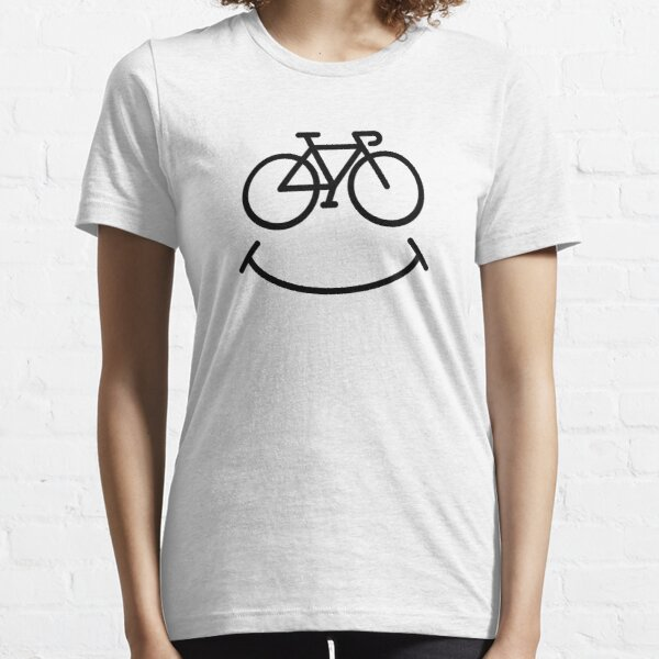 Bicycle Smile Essential T-Shirt