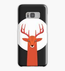 Deer and Moon Samsung Galaxy Case/Skin