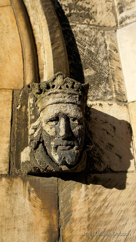 A stone face. by John (Mike)  Dobson