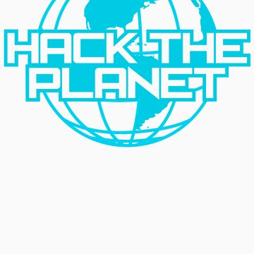 Hack the Planet by cupcakecity