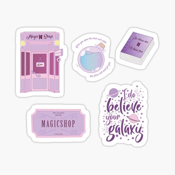 Paquete de pegatinas Magic Shop BTS Pegatina