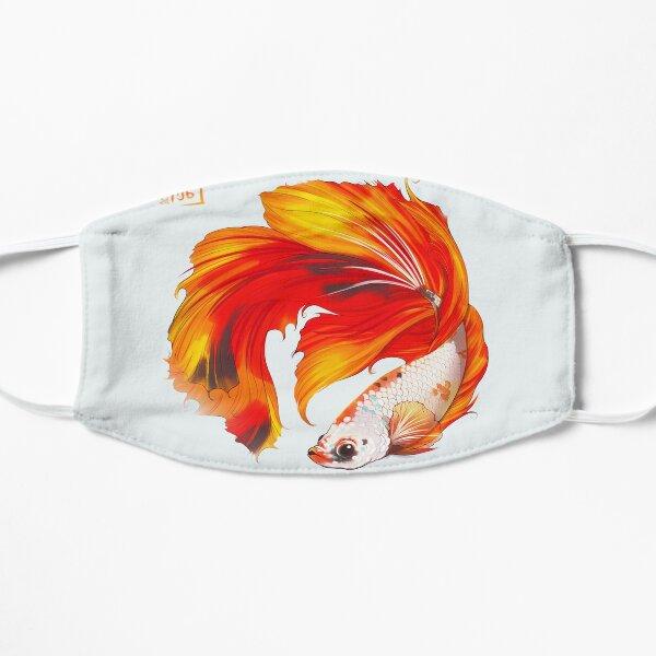 Koi Betta Fish Flat Mask