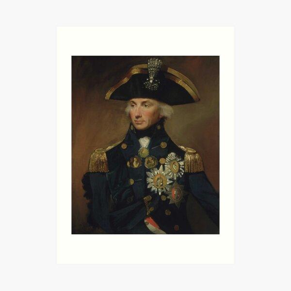 Admiral Horatio Nelson Kunstdruck