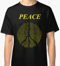 Peace - Happy People Lyrics Classic T-Shirt