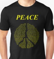 Peace - Happy People Lyrics T-Shirt