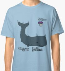 Hello Ground! - Hitchhiker's Guide To The Galaxy Classic T-Shirt