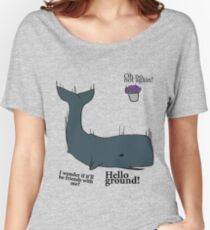 Hello Ground! - Hitchhiker's Guide To The Galaxy Women's Relaxed Fit T-Shirt