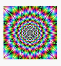 Psychedelic Explosion Photographic Print