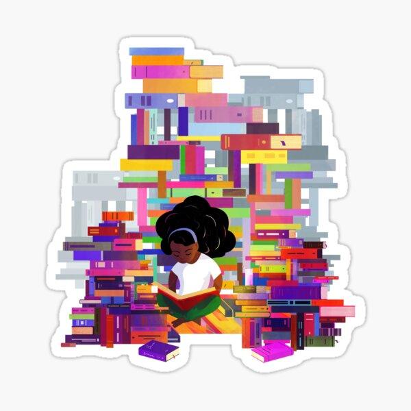 Mathilde - Bookworms United  Sticker