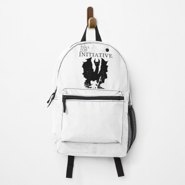 Roll For Initiative - Black Backpack