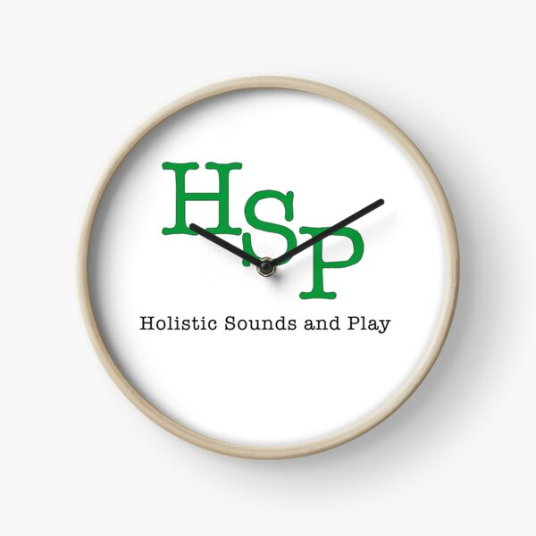 Holistic Sounds and Play  Clock