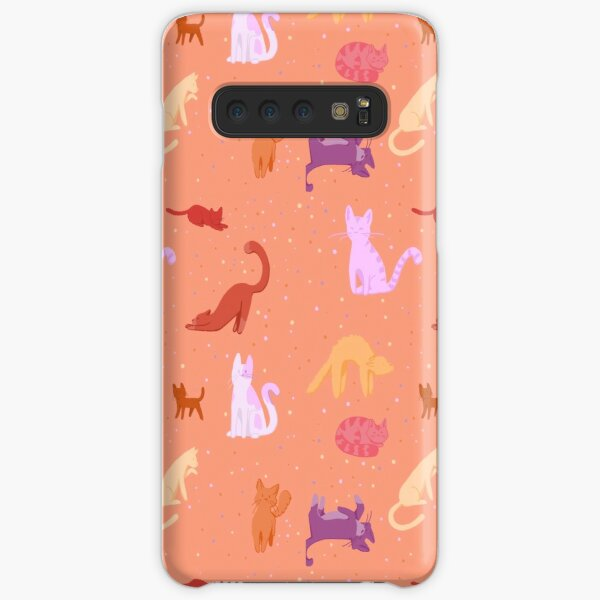 peachy cats Samsung Galaxy Snap Case