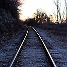 Railway to Sunsets by LaurelMuldowney