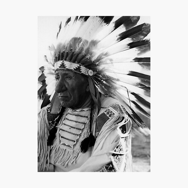 Chief Red Cloud Photographic Print