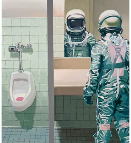 The Men's Room Sticker