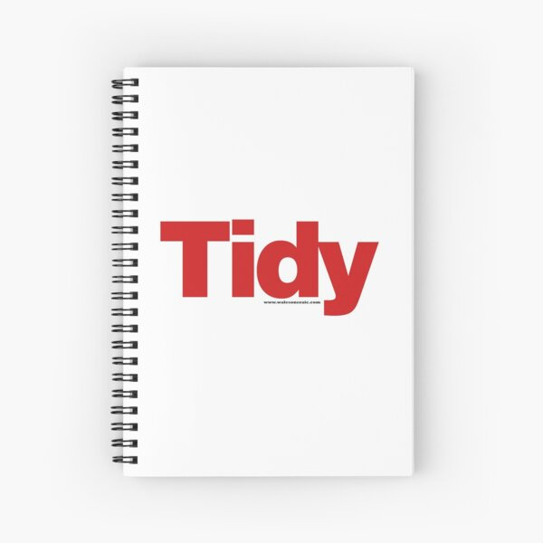 Tidy Spiral Notebook
