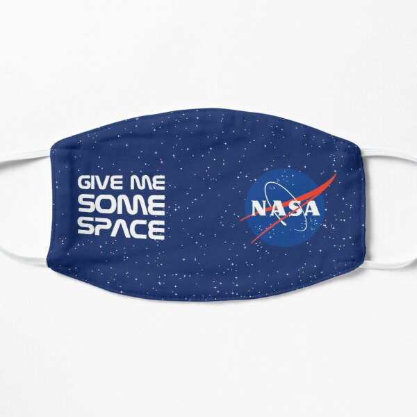 Give Me Some Space, Nasa! Flat Mask