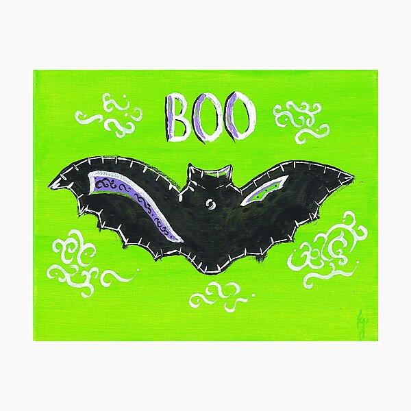 Baby Bat Boo Photographic Print