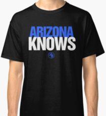 Discreetly Greek - Arizona Knows - Nike parody Classic T-Shirt