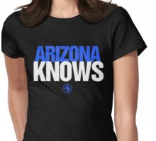 Discreetly Greek - Arizona Knows - Nike parody Womens Fitted T-Shirt