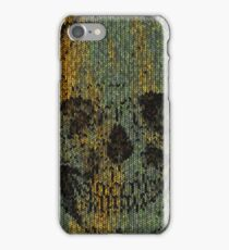 knitted skull iPhone Case/Skin