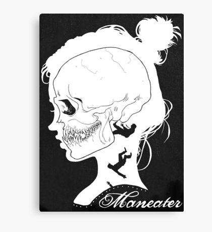 Maneater Canvas Print