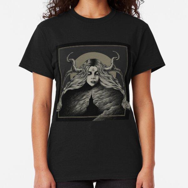 Sanctify Wicked Cross Jesus Juniors Ladies CARDINAL T-Shirt