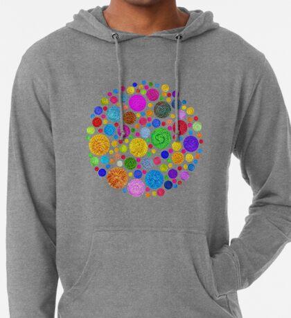 #DeepDream Color Circles Visual Areas 4x4K v1448872458 Lightweight Hoodie