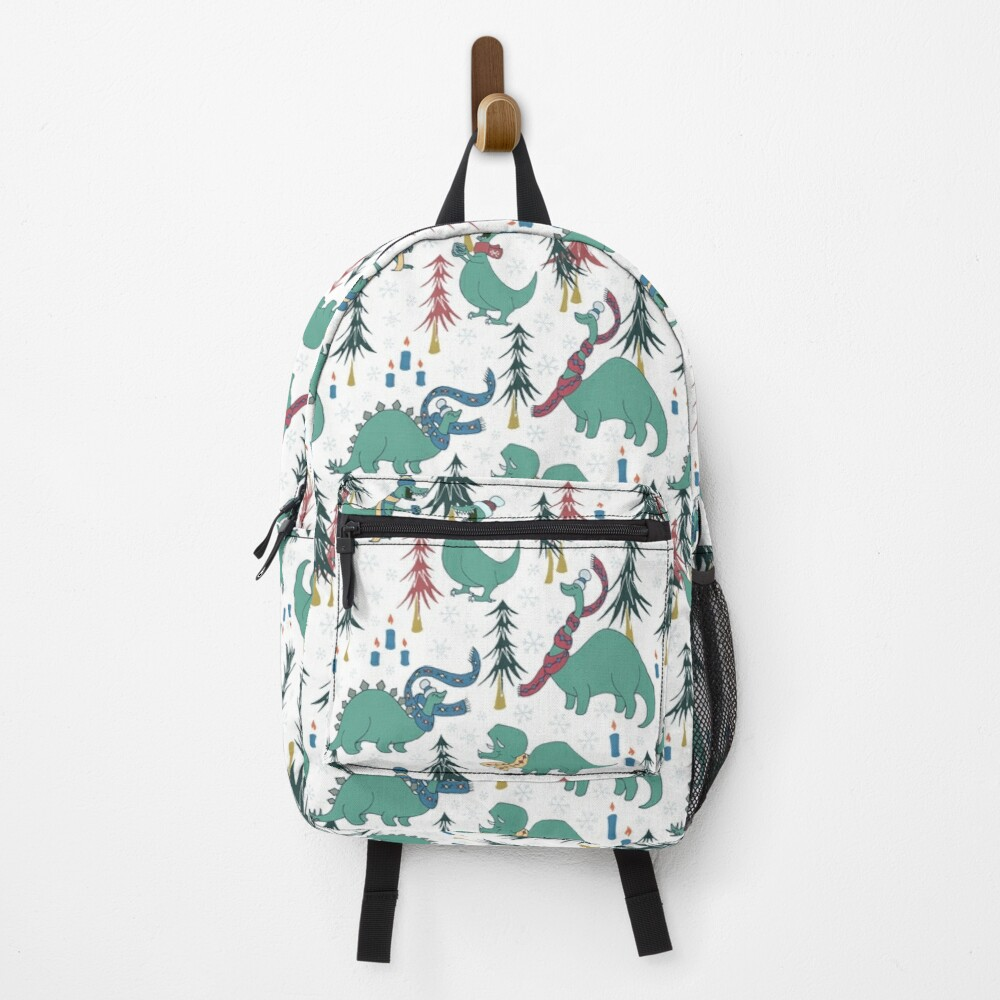 Dinosaur Hygge Party in the Forest Backpack