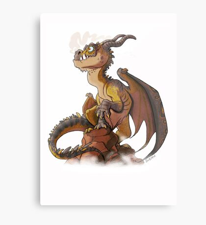 It's a dragon! Metal Print