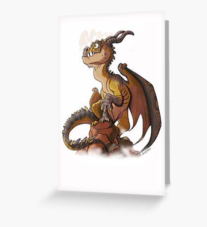 It's a dragon! Greeting Card