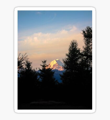 Mount Cook Sticker