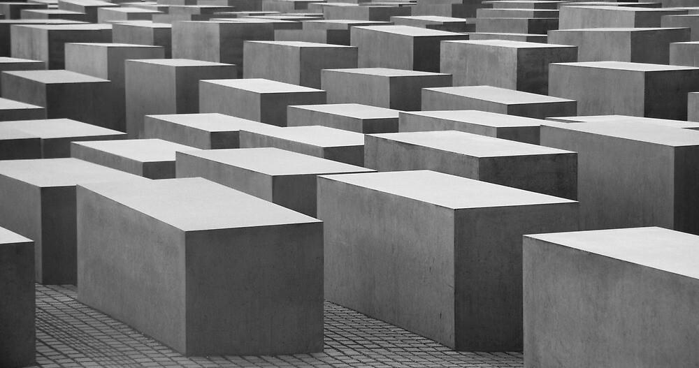 Holocaust Memorial, Berlin 02 by AlisonOneL