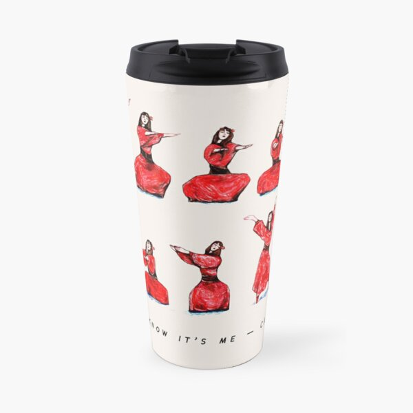 Kate Bush - Wuthering Heights Dance Travel Mug