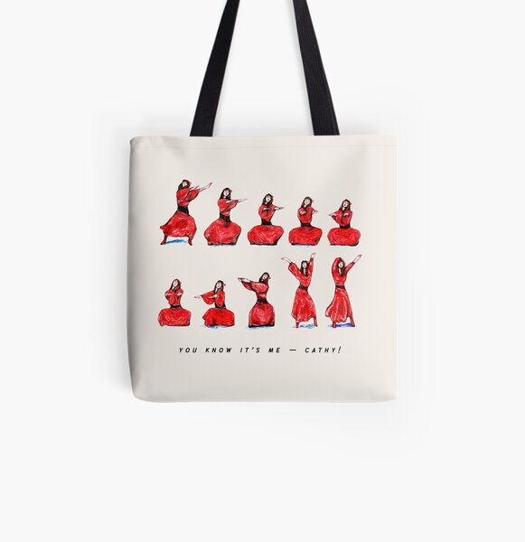 Kate Bush - Wuthering Heights Dance All Over Print Tote Bag
