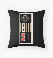 Controller- Nintendo 8 Bit Throw Pillow